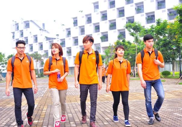 Một góc trong khuôn viên của Trường Đại học FPT Hòa Lạc.