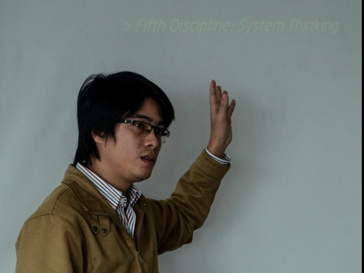 """Anh Dương Trọng Tấn: """"Với một tổ chức, nỗ lực không ngừng, cố gắng không ngừng, học hỏi không ngừng chính là chìa khóa thành công""""."""