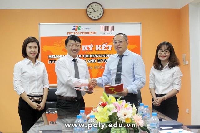 Cao đẳng thực hành FPT Polytechnic luôn đẩy mạnh hoạt động kết nối với doanh nghiệp từ đào tạo tới tuyển dụng, mở ra cơ hội việc làm cho tất cả sinh viên.